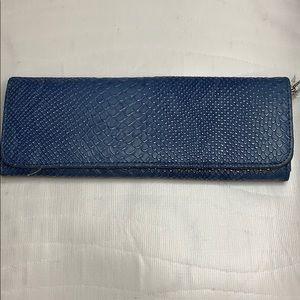 Big Buddha blue wallet